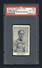 PSA 4 1912 C61 LaCROSSE CARD #48 HENRY SCOTT