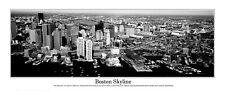 USA Massachusetts, Boston City, View of an Urban Skyline  Panoramic Poster 6002