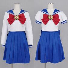New! Sailor Moon Cosplay clothing Navy Sailor School Uniform Costume