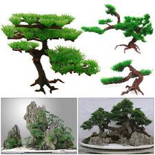 New listing Fish Tank Ornament Aquarium Decoration Artificial Pine Tree Simulation Plant
