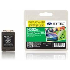 H302BXL JetTec Black High Capacity Remanufactured Ink Cartridge HP302XL