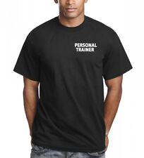Unisex PERSONAL TRAINER stampato GYM istruttore Maglietta regalo PT presenti Fitness