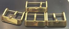 CAVADINI -dorn CHIUSURA ipg-plattiert PER leder-uhrenarmband von 16-22 mm