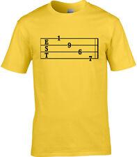Guitar Tab Birthday Mens T-Shirt Established 1967 51st Birthday Rock Metal Music