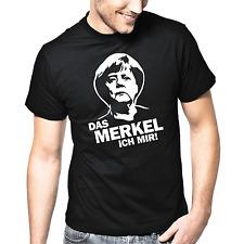 Das Merkel ich mir | Angela Merkel | Politsatire | Politik | Fun | S-XXL T-Shirt