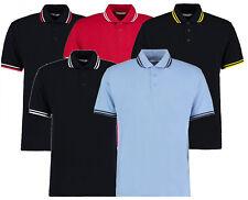 Kontrast-Polo | Tipped Poloshirt | Kontraststreifen an Kragen + Ärmel     594.11