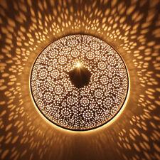 Orientalische Wandlampe runde Orientlampe Wandleuchte Orient indische Lampe Tami
