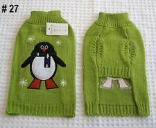 Dog Coat Jumper Sweater, #27, Size XS, S, M, L, XL, Suit Small to Medium Dog