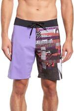 Volcom Mod Tech Men's NOA Dean Noise Mod 19 Purple Black Red Board Shorts