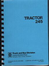 "Leyland ""245"" Tractor Operator Manual Book"