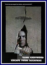 Escape From Alcatraz  1970's Movie Posters Classic Cinema