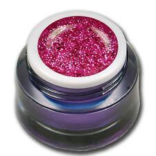 Premium Glitter Farb UV Gel 5ml Pink Rosa Türkis Rot viele Farben zur auswahl!