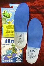 Sunbed Gel Fußbett Einlagen Einlegesohlen Geleinlegesohlen waschbar Gr.31-50