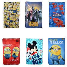Disney & Children TV Character Fleece Bed Blanket Throw Brand New Gift