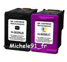 HP302Bk/Cl XL non originale Compatibles pour Envy 4520 4522 4525 4526ALL-IN-ONE