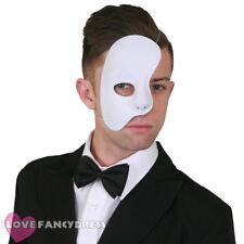 Phantom côté demi visage masque vénitien bal masqué halloween déguisements