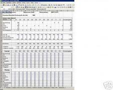 Einnahme- Überschußrechnung/Umsatzsteuererklärung Excel