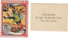 FIGURINA BANDITI, PIRATI, CORSARI, GALEONI SPAGNOLI, SERIE NANNINA N. 25