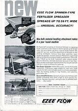 1963 Dealer Print Ad of Avco Ezee Flow No 111 Spinner Type Fertilizer Spreader