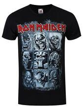 Iron Maiden Nine Eddies Men's Black T-shirt