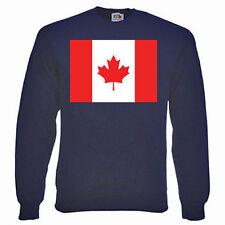 Felpa Bandiera Canadese, Bandiere-Scelta di dimensioni e colori.