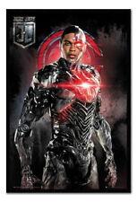 89933 Justice League Cyborg Solo Decor WALL PRINT POSTER CA