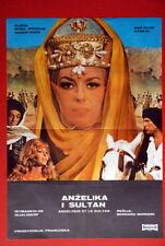 ANGELIQUE BORDERIE MICHELE MERCIER 1968 RARE EXYU MOVIE POSTER