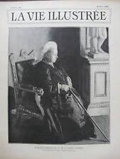 VIE ILLUSTREE 1899 N 22 PORTRAIT DE LA REINE VICTORIA