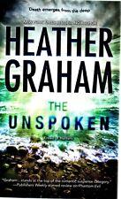 Heather Graham  The Unspoken     Paranormal Romance  Pbk NEW