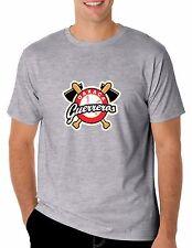 Baseball Guerreros de Oaxaca T-Shirt for Men's Color Gray 100% Cotton
