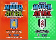 Match Attax Team Base Sets(16) 2009/10 2010/11 Com Post