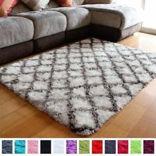 Shaggy Fluffy Rugs Anti-Skid Area Rug Indoor Shag Carpets Rug 4x5.3 Feet