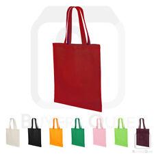 Q-Tees 6 oz Cotton Canvas Basic Economical Tote Bag - QTB