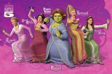 Shrek 3 der Dritte Prinzessinen Film Movie Kino - Poster Druck - Größe 91,5x61