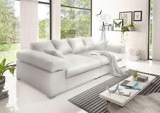 Big Sofa verschiedene Farben weiß grau beige braun schwarz Megasofa Kunstleder