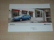 41632) Subaru Impreza Prospekt 08/2007