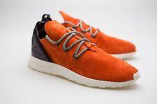 $140 Adidas Men ZX Flux ADV X orange crachi core black BB1406