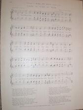 Newspaper music sheet Hymn in Time of War J S Arkwright W Augustus Barratt 1900