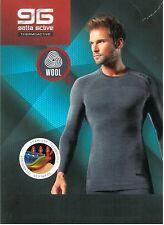 T-Shirt Wool Man - Gatta Thermoactive - abbigliamento tecnico per lo sport