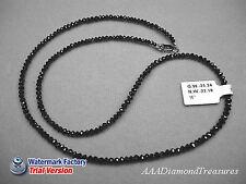 22.18Ct 200+ CUT Raw Natural ROUGH DIAMONDS Black BEADS
