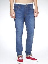 Nudie Herren Slim Skinny Fit Stretch Jeans Hose   Thin Finn Org. Klein U.