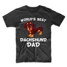World's Best Dachshund Dad Dog Owner T-Shirt