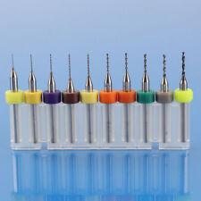 10pcs Tungsten Steel Carbide PCB CNC Micro Drill Bits Milling UK SELLER