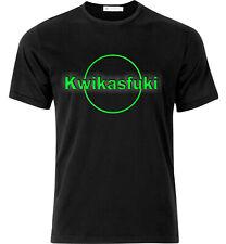 Kwikasfuki Motorcycle T Shirt Black