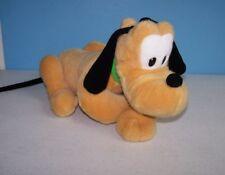 "Disney Mickey Pluto 16"" Kicking Back Relaxing Plush Dog"