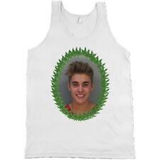 Justin Bieber Mugshot Weed Leaf Bella + Canvas Tank Top Marijuana Mug Shirt