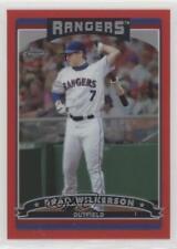 2006 Topps Chrome Red Refractor #16 Brad Wilkerson Texas Rangers Baseball Card