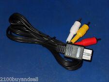 New AV RCA  Cord SNES N64 Super Nintendo 64 Gamecube