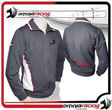 Omnia Racing Giubba felpa full zip cotone elasticizzato - Made in Italy