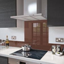 Marrón Chocolate salpicaduras varios tamaños de vidrio templado resistente al calor hasta 500 ° C